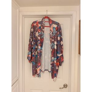 Sweaters - Floral Sweater - NWOT Size 3XL